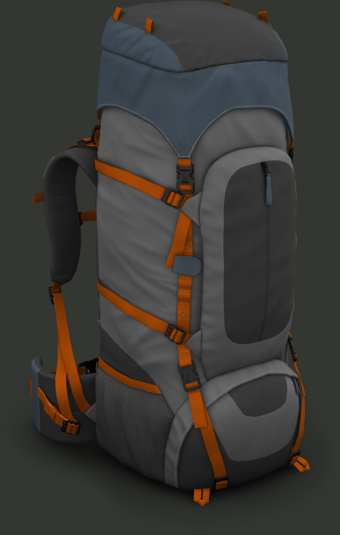 presentation webgl backpack