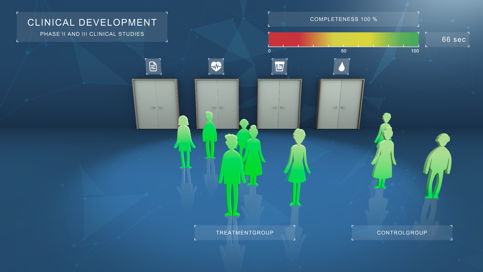 unity serious game clinical development for bayer won