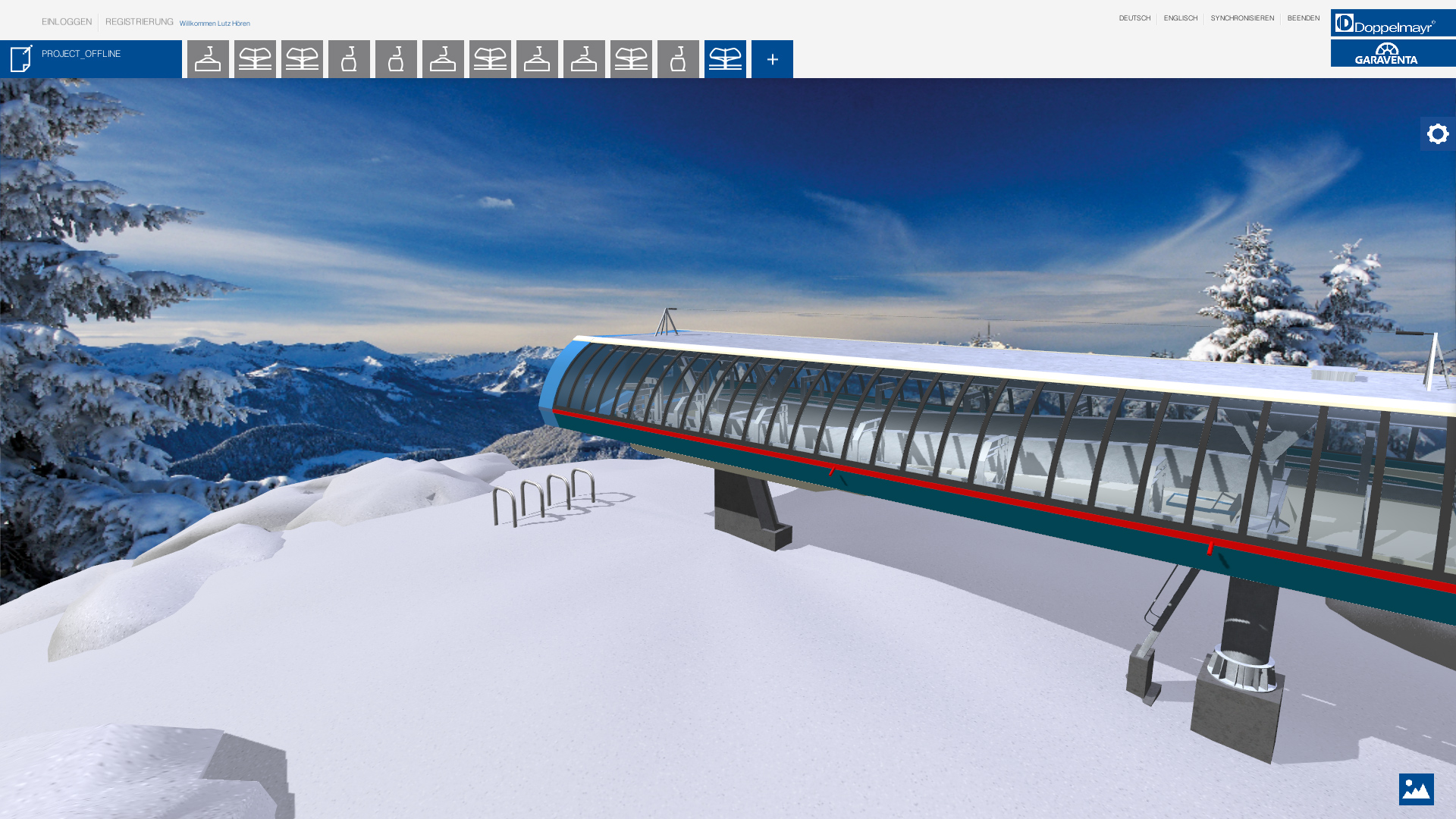 doppelmayr webapplication ropeway configurator station