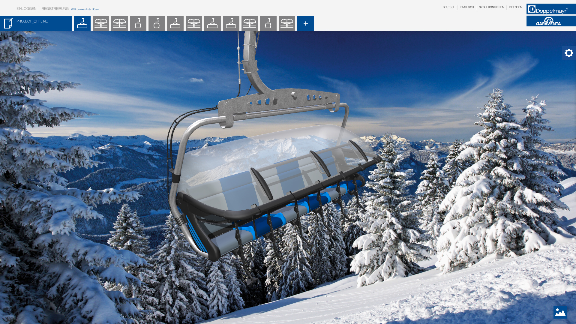 doppelmayr unity ropeway configurator maximum project number
