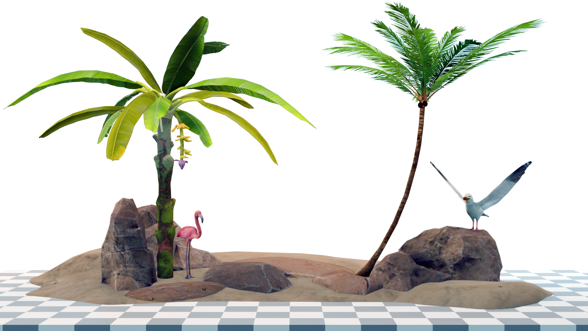 virtual reality unity island assets easysolution