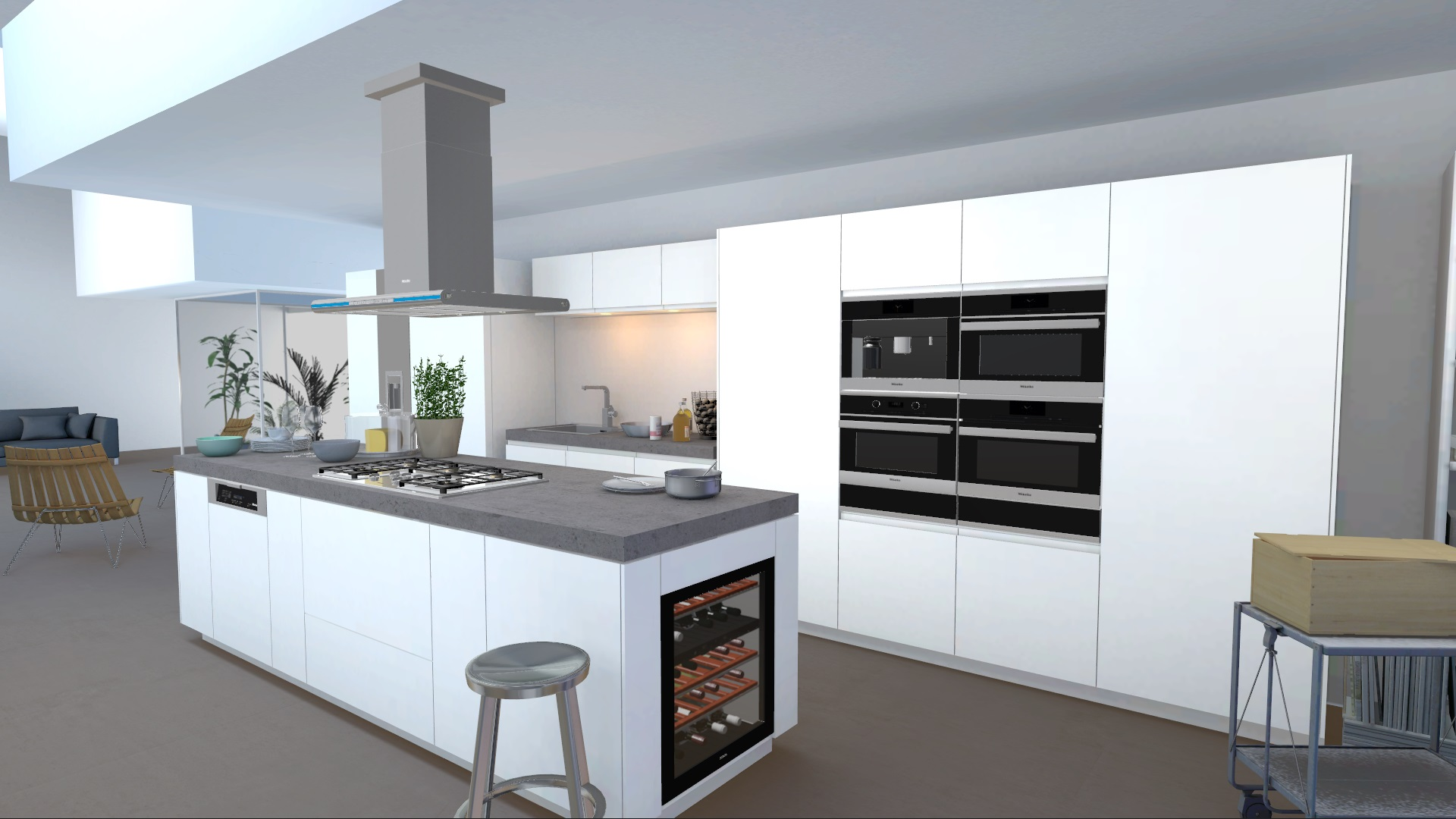 kitchen appliance visualizer redplant realtime studio miele kitchen appliance visualizer by unity with kitchen example
