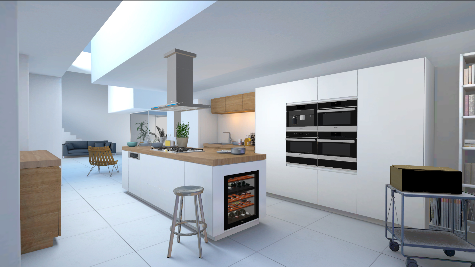 kitchen appliance visualizer redplant realtime studio miele kitchen appliance visualizer of unity with kitchen white