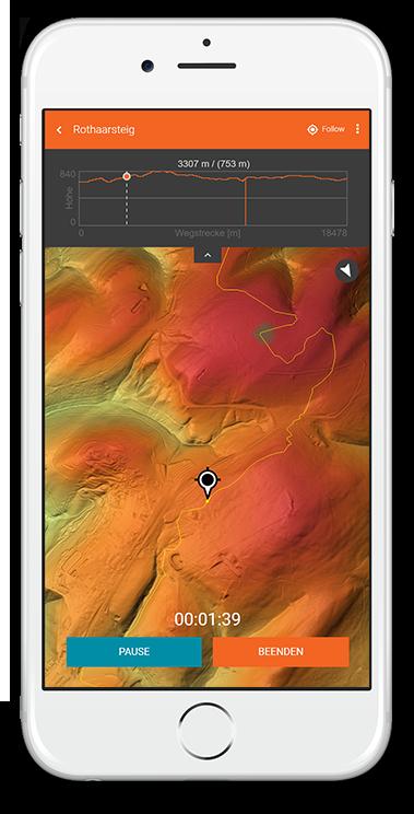 Hike & Seek App [redPlant Realtime Studio]