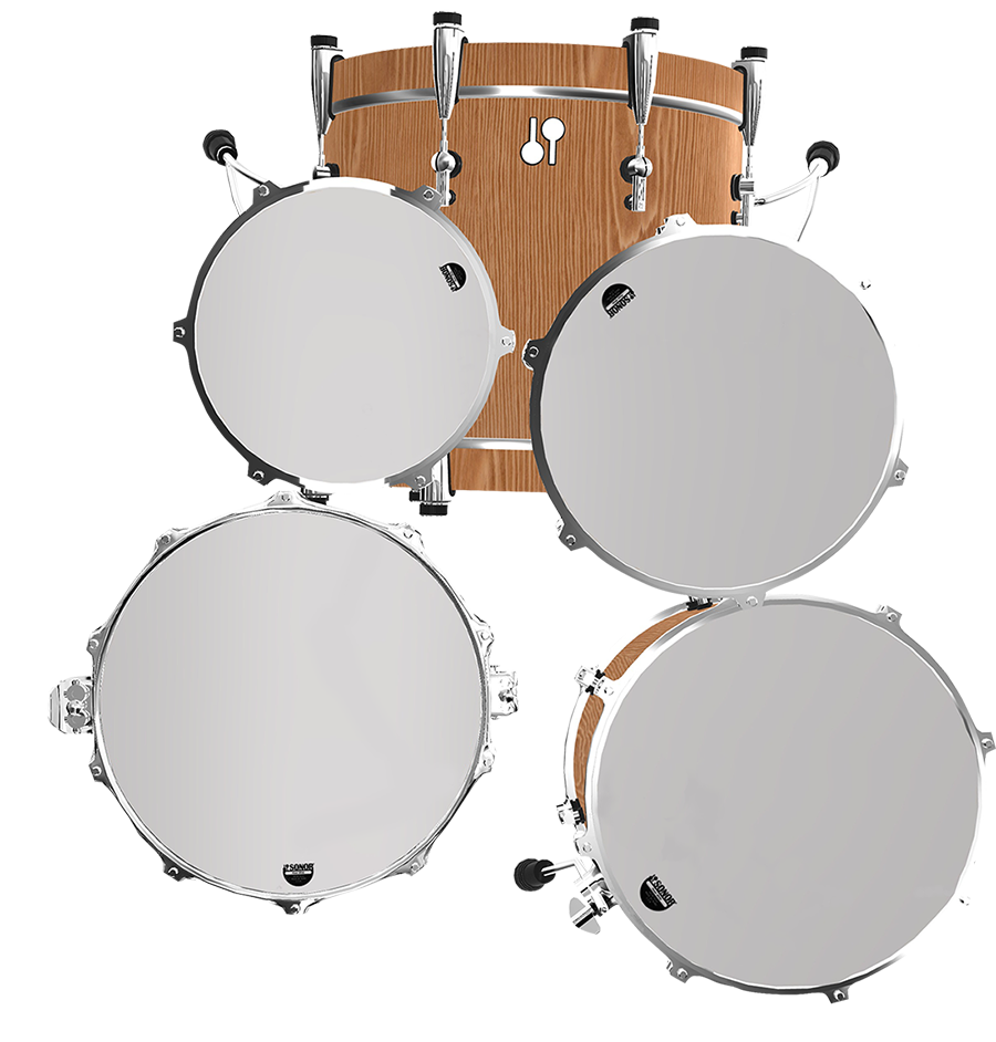 isolated drum layout mode in sonor sq2 configurator