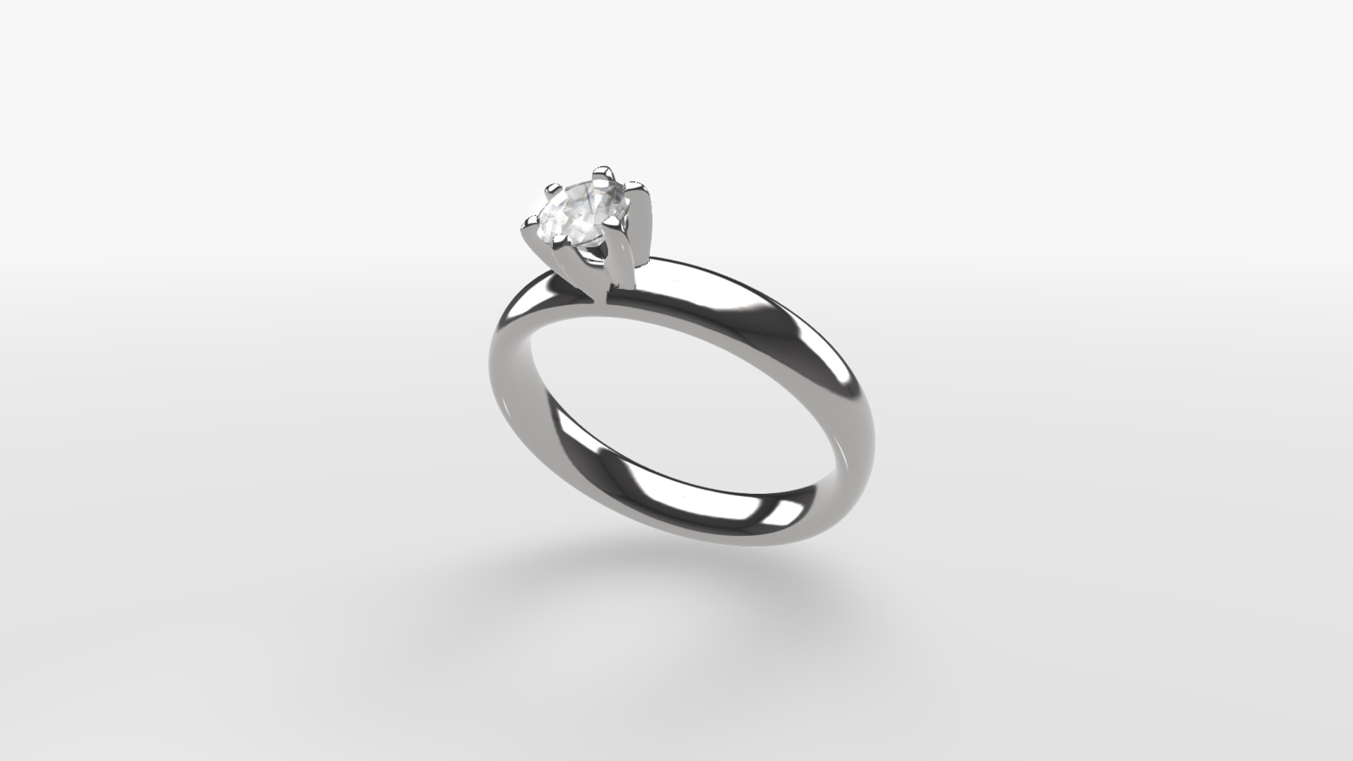 gemkit webgl configurator silver ring with diamond