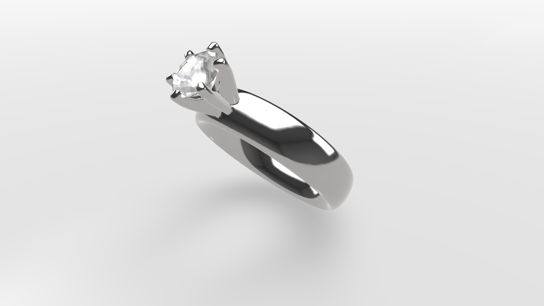 gemkit webgl configurator platin silver ring with diamond
